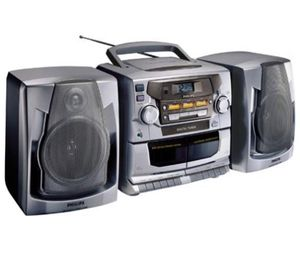 Philips AZ2785 CD Boombox with Remote and Detachable Speakers for Sale in Pensacola, FL
