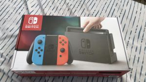 Nintendo switch 32GB (Neon red/blue joycons) for Sale in Stockton, CA