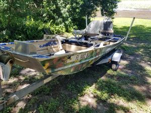 14 feet Aluminum fishing Boat. for Sale in Orlando, FL