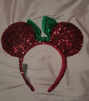 New Disney Holiday Minnie ears for Sale in Lawndale, CA