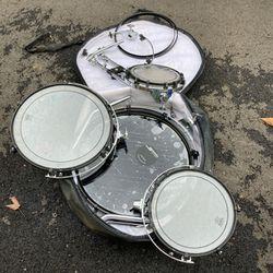 4 Piece RIMS Drum Kit Plus Bass RIM With 3 Skins for Sale in Bonney Lake,  WA