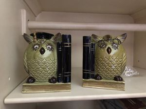 Vintage owls bookends for Sale in Dallas, TX