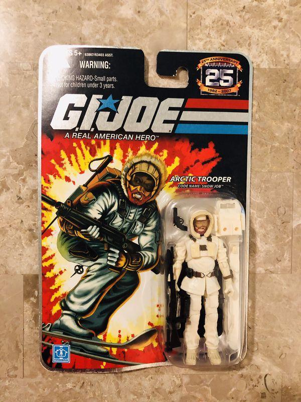 New Gi Joe 25 Anniversary Snow Job Action Figure