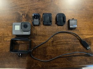 GoPro hero 5 black with accessories for Sale in Furlong, PA