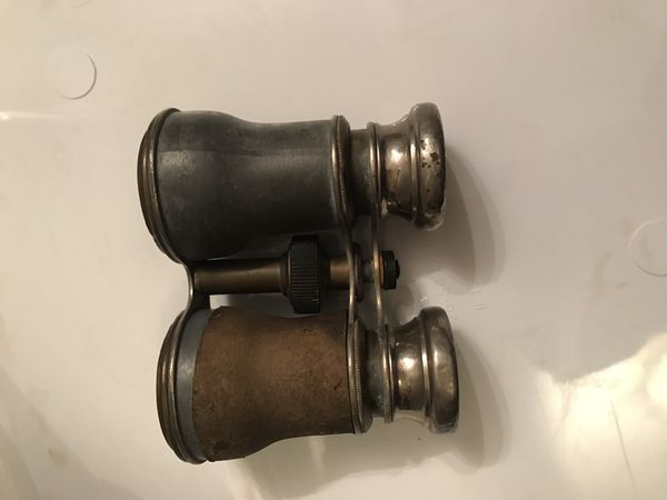 Antique French binoculars