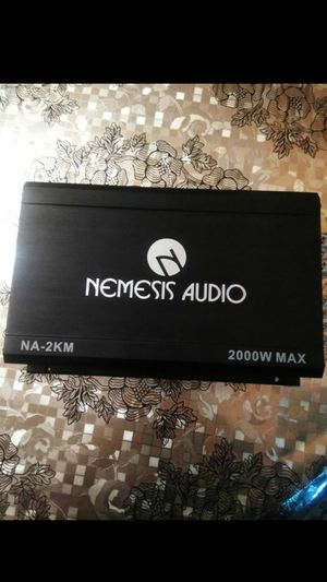 !!! NEMESIS AUDIO AMP 2000 WATTS MAX GOOD CONDITION 1 OHM STABLE!!! for Sale in Dallas, TX