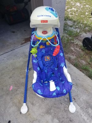 Greco mechanical baby swing for Sale in Orlando, FL