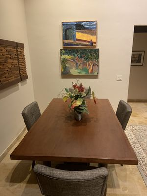 """Custom made Mahogany Dining table top . 46""""W x 74""""L x for Sale in Dana Point, CA"""