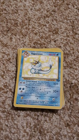 Pokemon Cards from 1995 for Sale in Bedford, TX