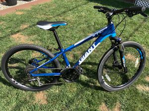 """Giant 24"""" Mountain Bike, XTC Model, Aluminum frame, hydraulic brakes, 24 speed, front suspension - Like New! for Sale in Middletown, NJ"""