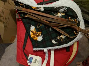2 saddle pads and 2 stirrup leathers for Sale in Fairfax, VA