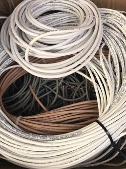 2 Boxes Of Wire CAT5 CAT3 and Coax for Sale in Las Vegas,  NV