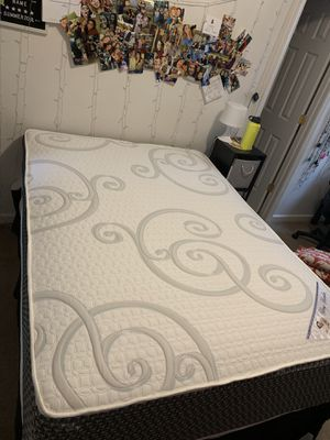 Full size bed and bed frame for Sale in Blacksburg, VA