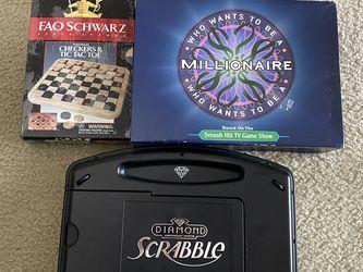 3 Board Games. Price For All for Sale in Boca Raton,  FL