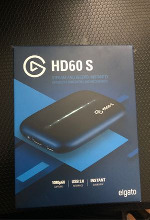 HD60 S Game Capture Elgato for Sale in Wilton Manors, FL