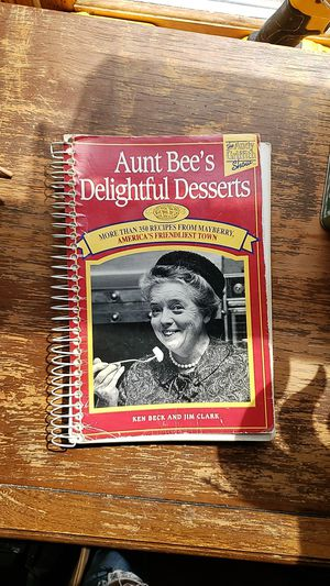 Aunt bees desserts cookbook Andy Griffith show for Sale in Caro, MI