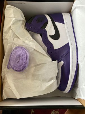 Jordan 1 Purple court for Sale in Forest Grove, OR