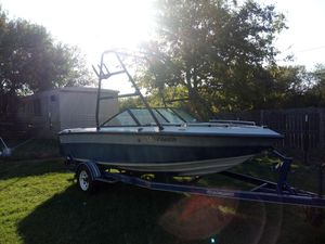 Boat and trailer for Sale in Cedar Creek, TX