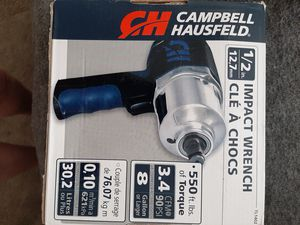 Campbell and hausfeld 1/2in impact wrench for Sale in Aurora, CO