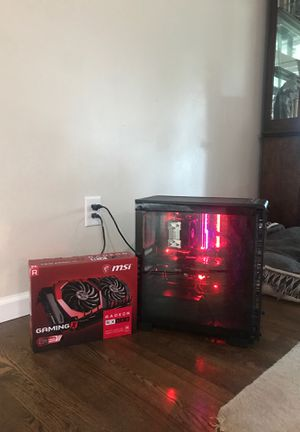 Gaming/streaming pc comes with both gpus for Sale in Snohomish, WA