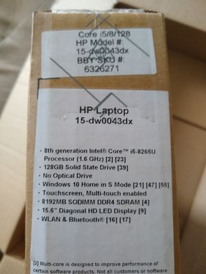 HP Touchscreen Laptop Brand New!!! for Sale in St. Petersburg, FL
