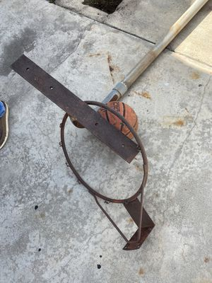 Metal basketball pole and hoop for Sale in Glendora, CA