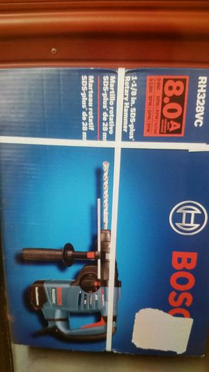 Bosch 8 Amp 1-1/8 in. Corded Variable Speed SDS-Plus Concrete/Masonry Rotary Hammer Drill for Sale in Charlotte, NC