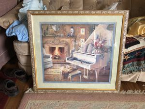 Fireplace Parlor Room With Grand Piano for Sale in Austin, MN