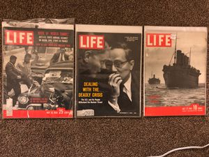 Vintage Original Life Magazines for Sale in Grosse Pointe Park, MI