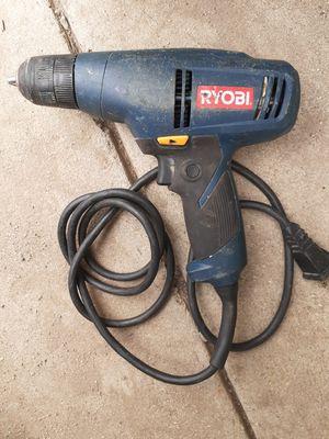 Ryobi drill with cord for Sale in Colton, CA