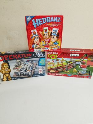 Three different kinds of kids game for Sale in Sun City, AZ