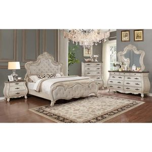 Ashford Weatheredbsbs White Panel Bedroom Set for Sale in Baltimore, MD