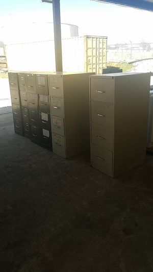 6 filing cabinets $50 takes all for Sale in Burleson, TX