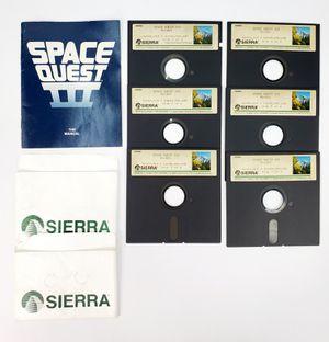 "Sierra - Space Quest III - 5.25"" Floppy Disk, Manual etc. (1989) - IBM PC Tandy for Sale in Trenton, NJ"