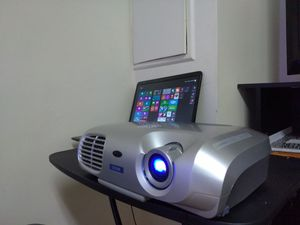 Urgent! Projector best to enjoy movie in big screen. Slide the picture to proof. for Sale in Mount Rainier, MD