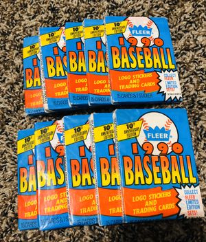 1990 Fleer baseball cards for Sale in Youngtown, AZ