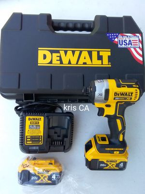 Dewalt xr 3 speed impact drill kit x2 4ah batteries for Sale in La Puente, CA