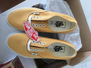 Yellow Vans Size 9W US or M7.5 US for Sale in Cardiff, CA