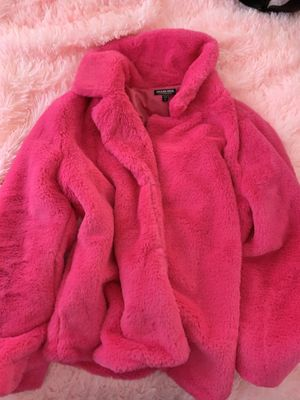 Fashion Nova Fur Jacket for Sale in Billerica, MA