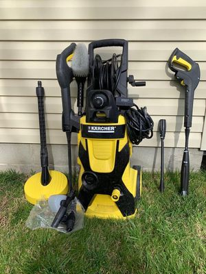 KARCHER K5.540 2000 PSI 1.4 GPM WATER ELECTRIC PRESSURE POWER WASHER WITH HOSE for Sale in Chesapeake, VA