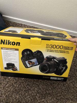 Nikon D3000 Camera for Sale in Abilene, TX