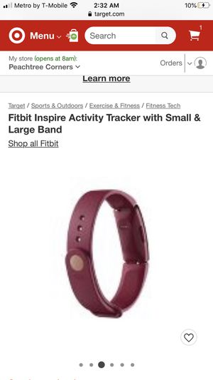 Fitbit activity tracker watch. for Sale in Sandy Springs, GA