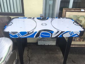 Air hockey table 1 of 2 for Sale in Chesapeake, VA