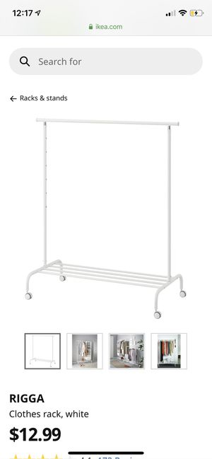 clothing racks ( two ) for Sale in Stockton, CA