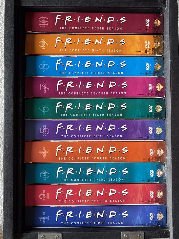 Friends dvd set full season