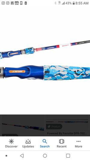 Brand New Favorite Defender Rod Baitcaster 7.3 Fishing Rod for Sale in Norwalk, CA