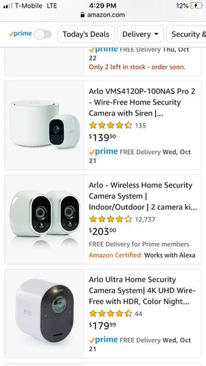 like NEW Arlo Security System Heavily discounted for Sale in Dania Beach, FL