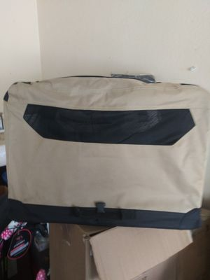 Portable folding soft dog travel crate kennel for Sale in Mesquite, TX
