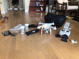 DJI Phantom Pro 3 Full Kit for Sale in Redmond, WA