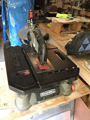 Rockwell tabletop jigsaw for Sale in Harrisonburg, VA